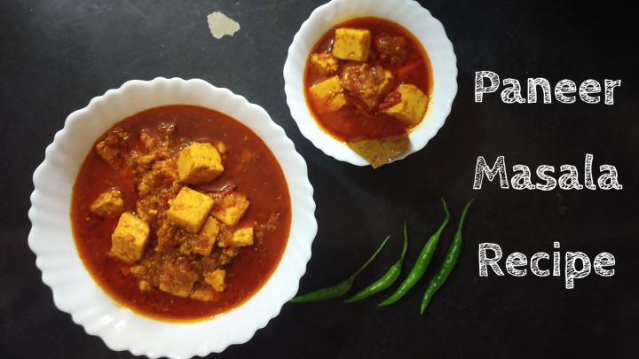 Paneer Receipe | Paneer Masala Gravy Recipe | Cottage Cheese Recipe | Restaurant Style Paneer Masala Recipe ( Step by Step + Recipe Video)